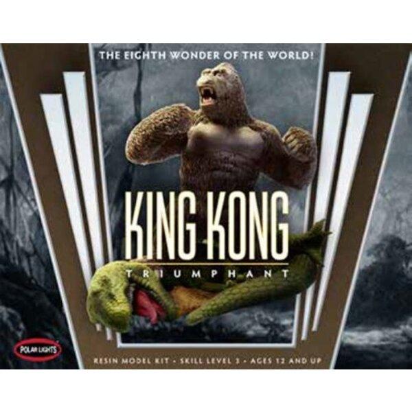 1933 King Kong & bullet - T-Rex Basis und dynamische Pose & bullet - Ungefähr 9 tallPlease Hinweis: Dies ist ein Resin-Kit ist u