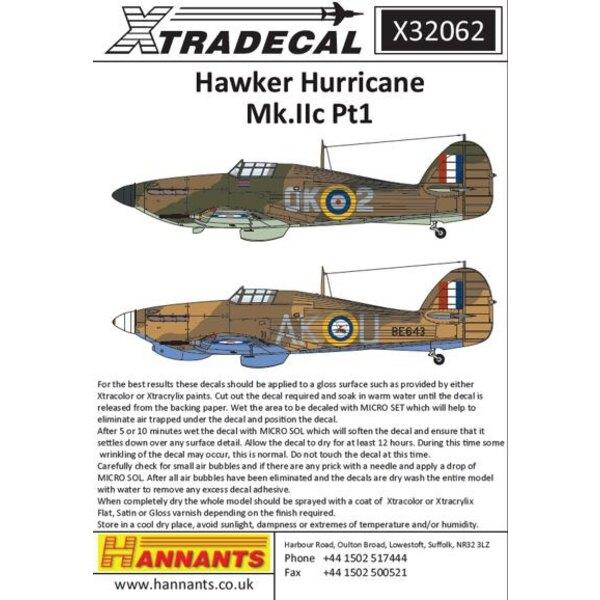 Hawker Hurricane Mk.IIc Pt 1 (3) BE643, AK-U P / O AUHoule 213 Sqn, Edku, Ägypten, April, 1942.BD929, ZY-S 247 (China-British) S