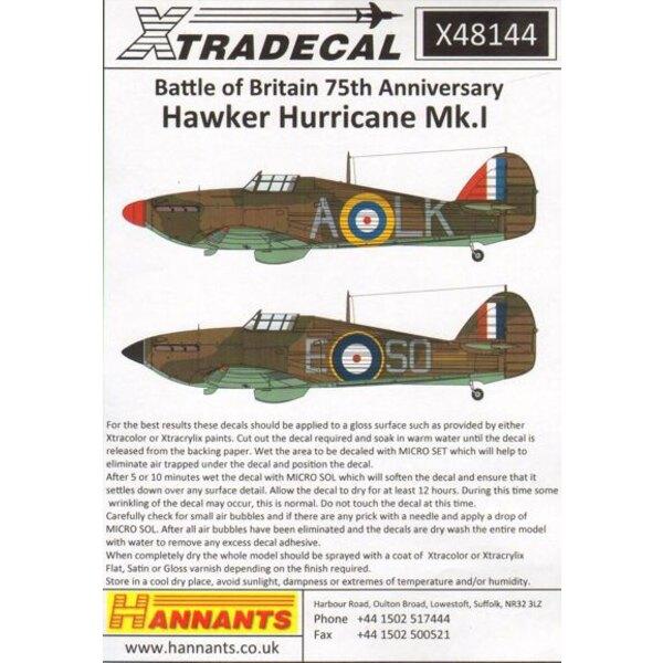 Hawker Hurricane Mk.I Battle of Britain 1940 Pt.1 (5) P2798 LK-A 87 Sqn Flt / Lt Ian 'Widge' Gleed RAF Exeter - SO-E 145 Squadro