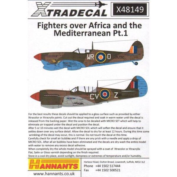 Fighters über Nordafrika und dem Mittelmeer Pt.1 (6) Hawker Hurricane Mk.IIc Tropical Version HJ885 AX-Z 'Hoppla' 1 Sqn SAAF 258