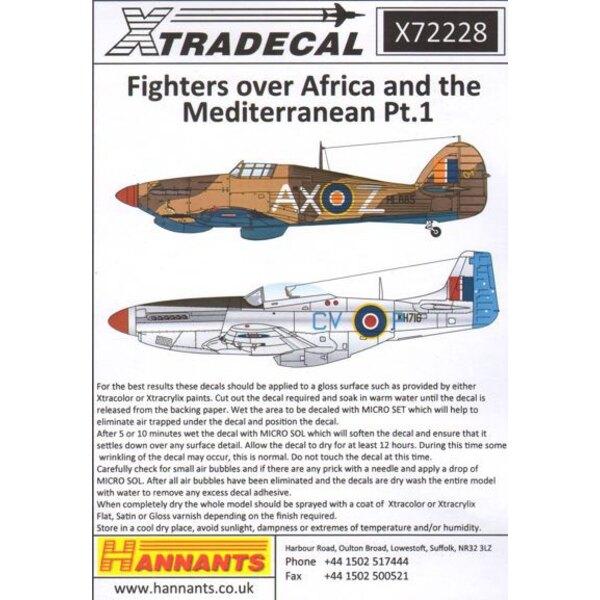 Fighters über Afrika und dem Mittelmeerraum Pt.1 (11) Hawker Hurricane Mk.I Tropenausführung W9293 / U 75 Squadron RAF 1942 - Hu