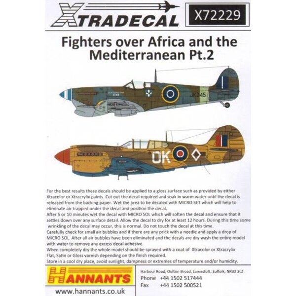 Fighters über Afrika und dem Mittelmeerraum Pt.2 (11) Hawker Hurricane Mk.I Tropical Version Z4932 DL-B 'Kiwi Unterleutnant Mich