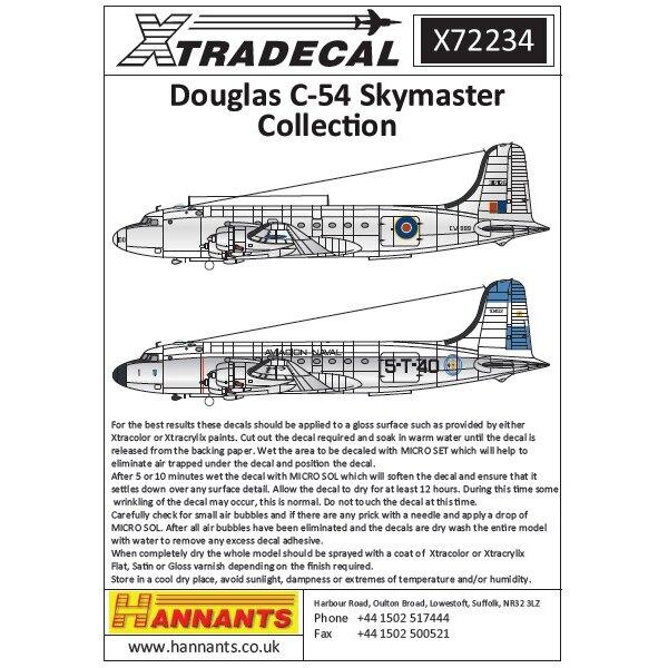 Douglas DC-4 / C-54 Skymaster (8) C-54A 10358/58 31 Escadrile de Servitude Französisch Aeronavle, Le Bourget 1962 - C-54A 10402