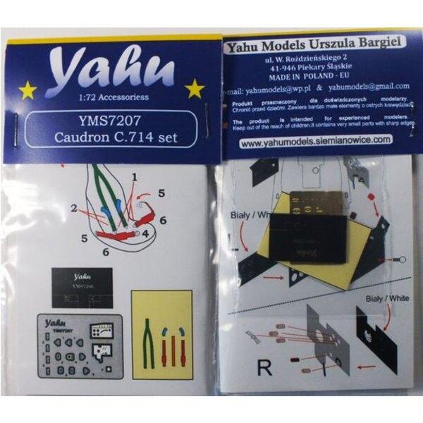 Caudron Cr.714 Details (entworfen mit Heller und RS-Modelle Kits verwendet werden)
