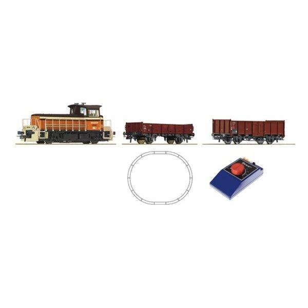 Analog Starter Set: Kleindiesellokomotive + Güterzug, SNCF