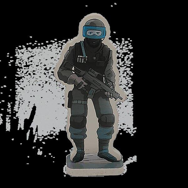 Clément le policier du raid