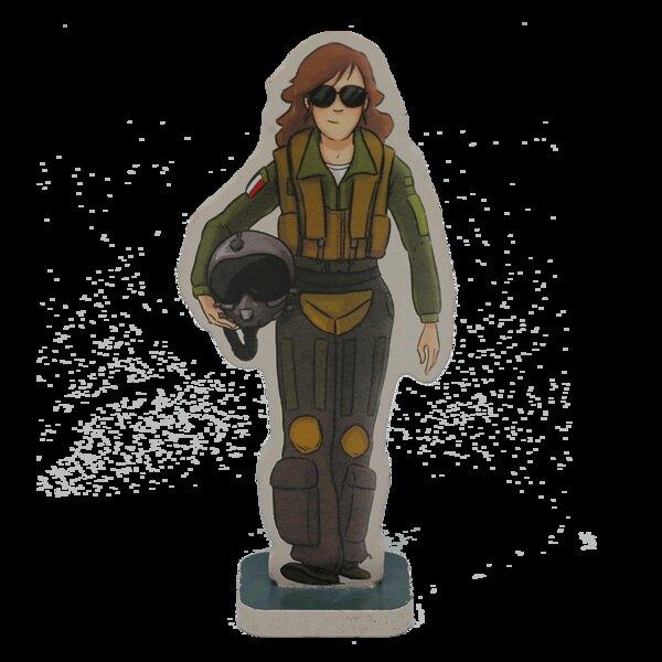 Caroline the fighter pilot