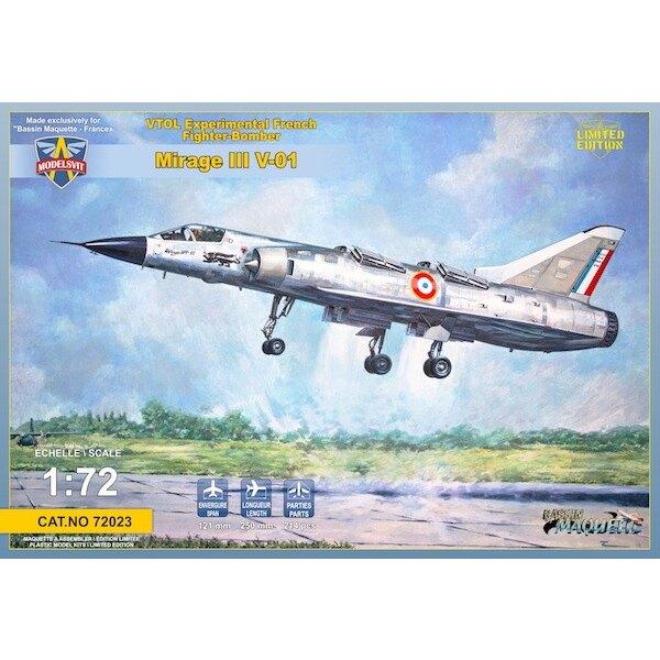 Dassault Mirage III V-01 Französisch VTOL