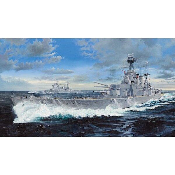 HMS Hood (ein Upgrade-Set ist separat erhältlich, siehe Punkt TU06641)