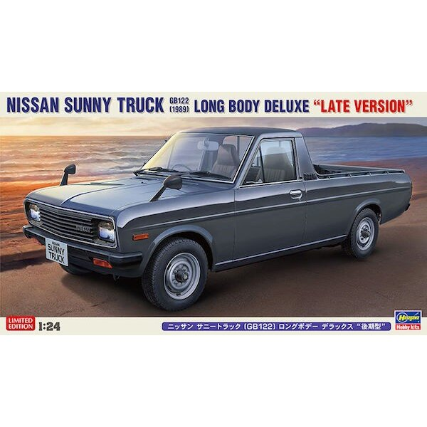 Nissan Sunny Truck (GB122) Long Body Deluxe (Late Version)