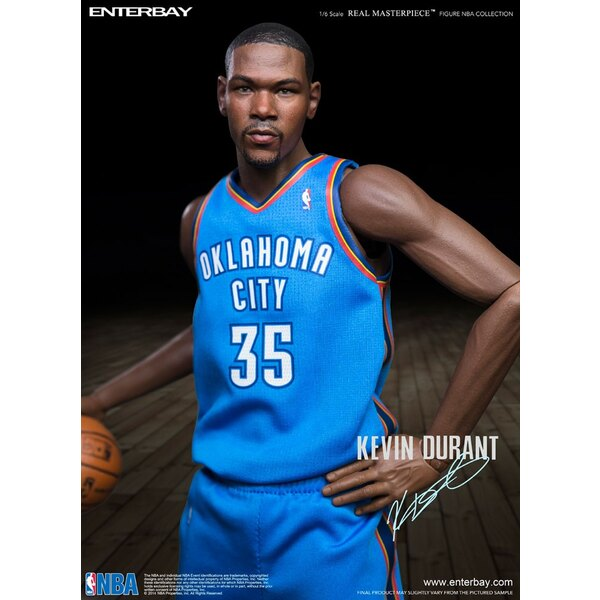 NBA Collection Real Masterpiece Actionfigur 1/6 Kevin Durant 33 cm