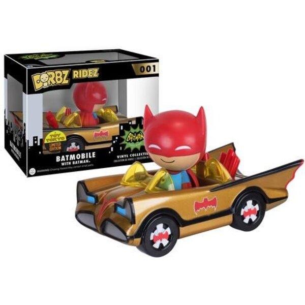 Batman POP! Ridez Vinyl Fahrzeug mit Dorbz Figur ?66 Batman Gold Batmobile SDCC 2016 Exclusive 12 cm