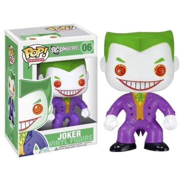 DC Comics POP! Vinyl Figur Joker 10 cm