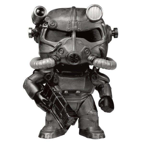 Fallout POP! Games Vinyl Figur T-60 Power Armor (Black) 9 cm