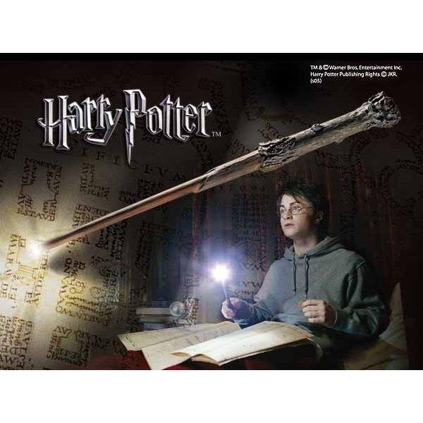 Harry Potter Replik Harrys Zauberstab mit Leuchtfunktion