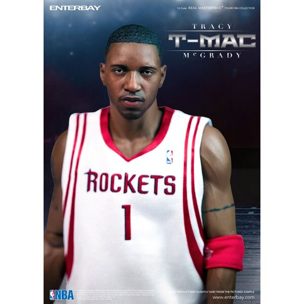 NBA Collection Real Masterpiece Actionfigur 1/6 Tracy McGrady 30 cm