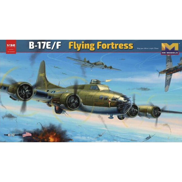Boeing B-17E / F Flying Fortress.