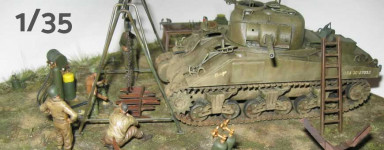Panzermodelle im Maßstab 1:35