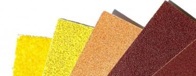 Sand- und Schmirgelpapier