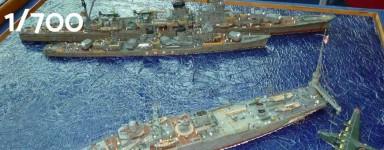Schiffsmodelle 1:700