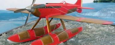 Modellbau von Wasserflugzeug
